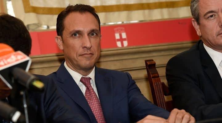 il deputato Claudio Pedrazzini