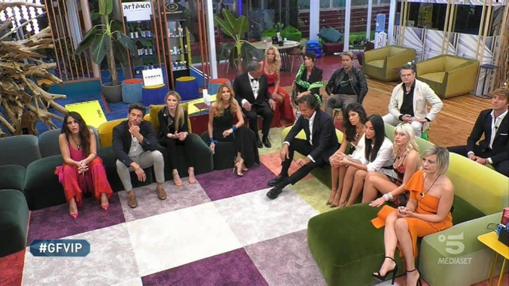 I concorrenti della sedicesima puntata del Grande Fratello Vip