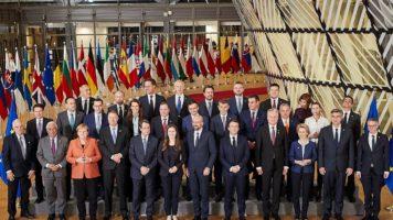 capi di stato al consiglio europeo