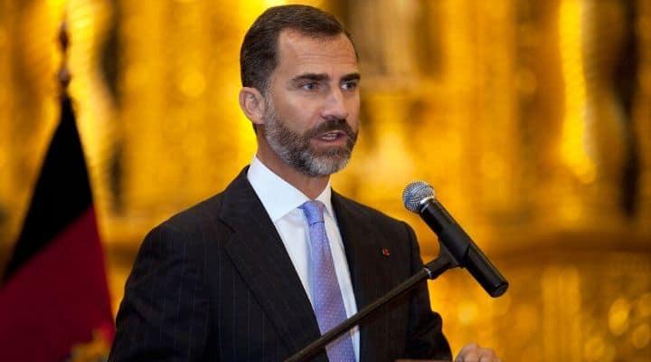 Il Re di Spagna Felipe VI