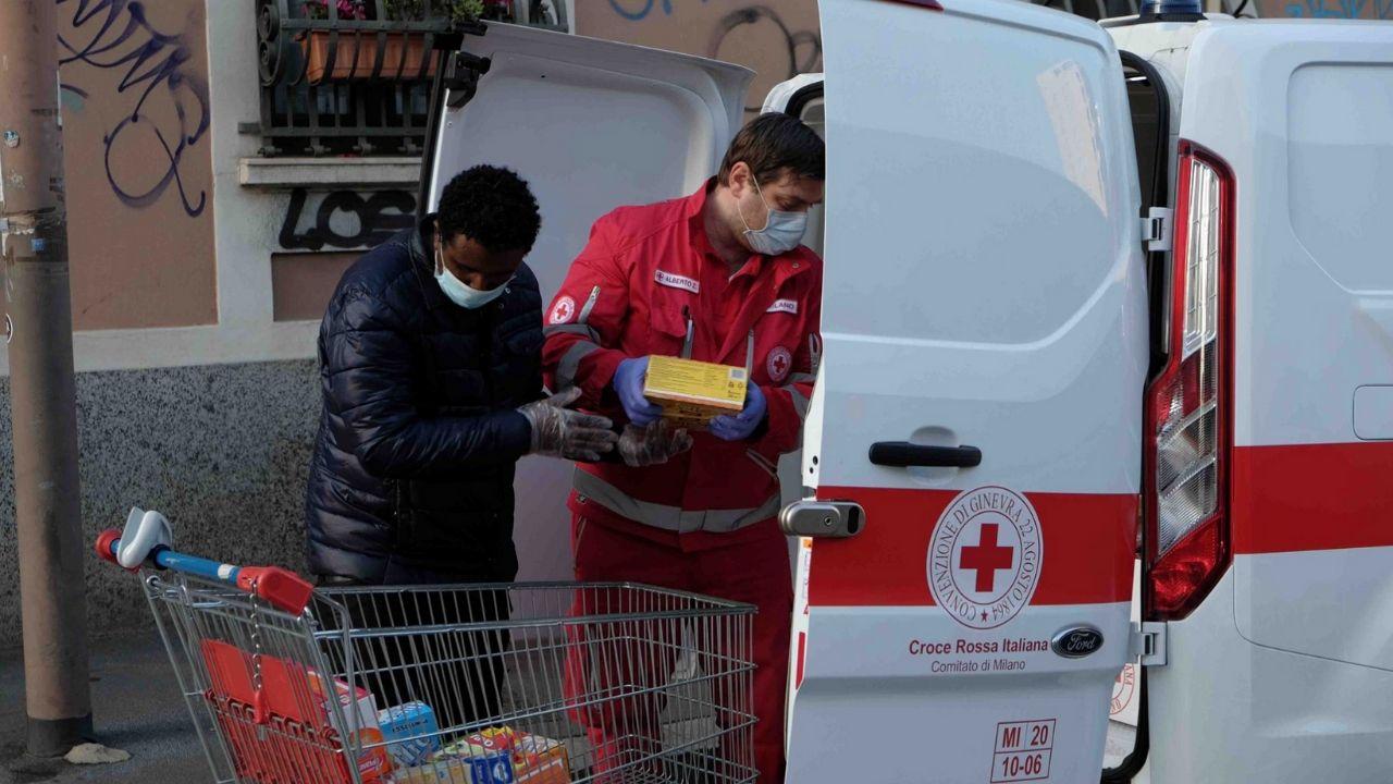 croce rossa donazioni