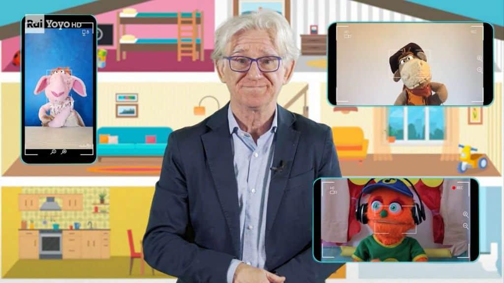 Armando Traverso durante la prima puntata di Diario di casa