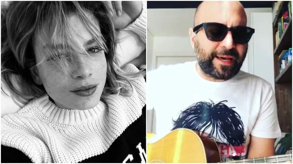 Emma Marrone e Giuliano Sangiorgi