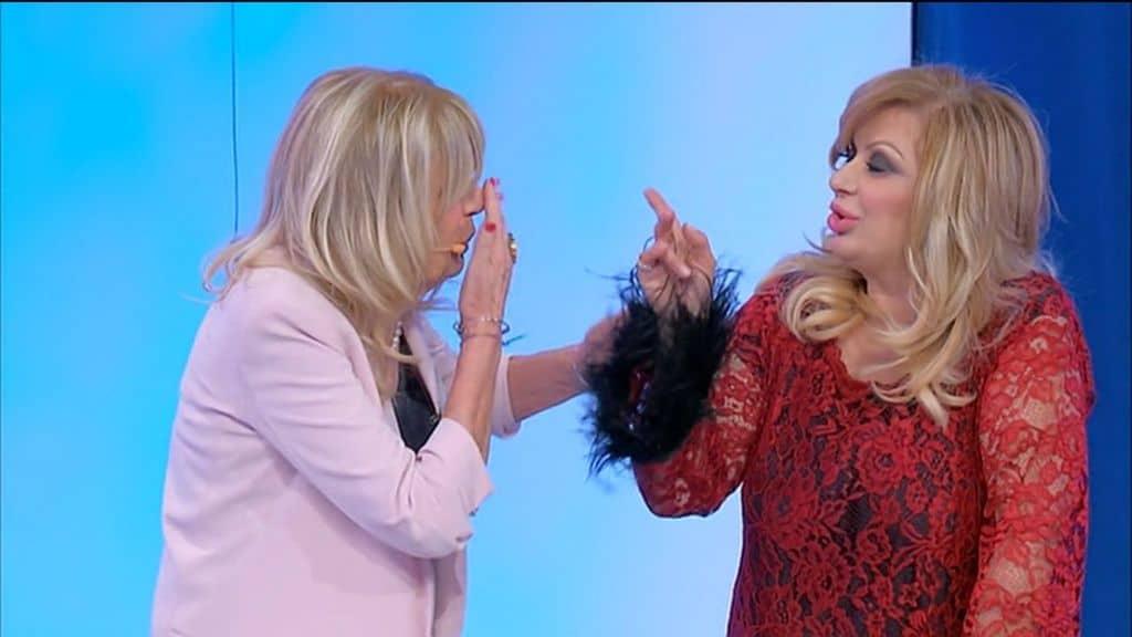 Gemma Galgani e Tina Cipollari in puntata