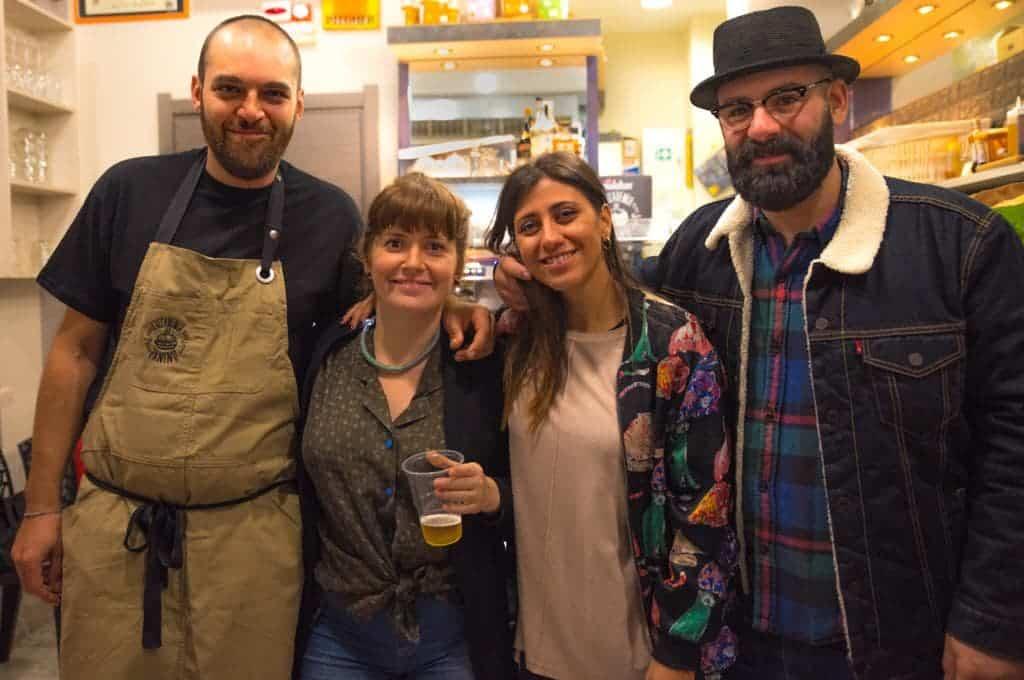 I gestori dell'Accademia del Panino di Torino