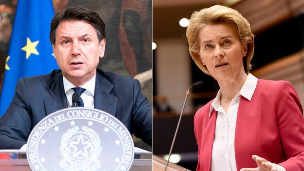 "Von der Leyen gela l'Italia sui coronabond. Conte: ""L'Europa"