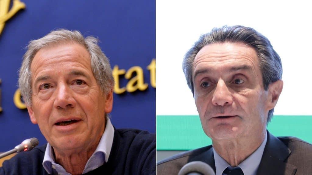 """Coronavirus, Fontana sulle condizioni di Bertolaso: """"Sta ben"""