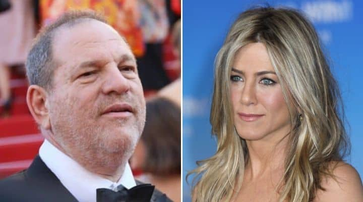 Harvey Weinstein e Jennifer Aniston