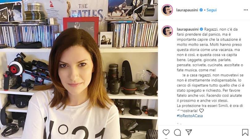 Laura pausini su Instagram