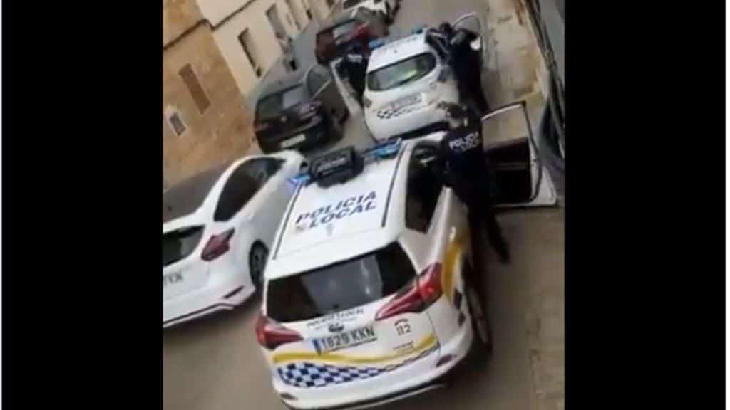 polizia a maiorca