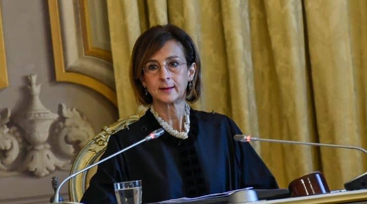 Il Presidente della Consulta Marta Cartabia