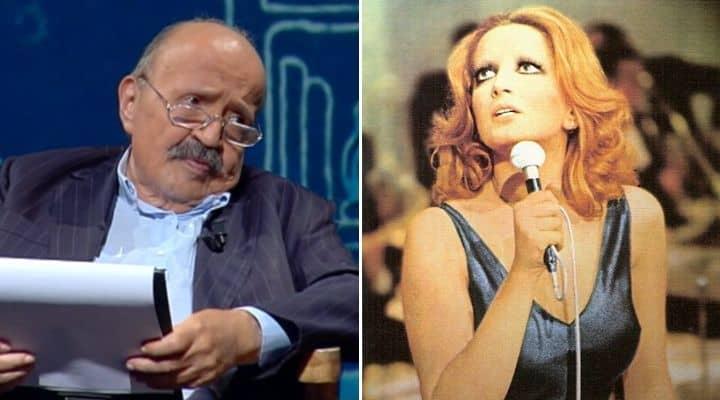 Maurizio Costanzo e Mina