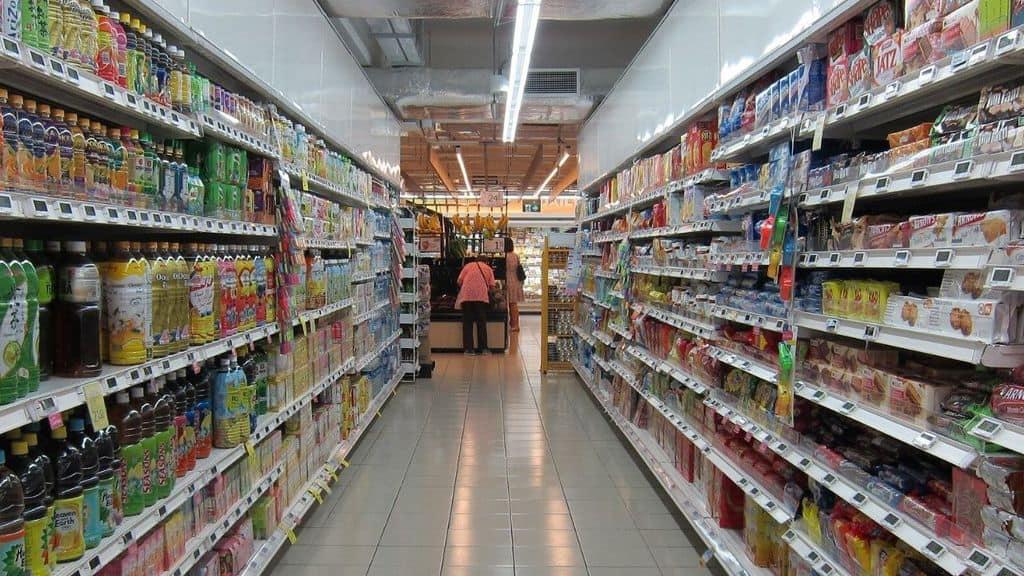 corsia di un supermercato