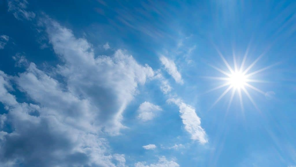 Meteo del weekend: le previsioni verso la Domenica delle Pal