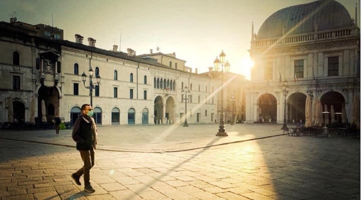 Piazza Loggia a Brescia