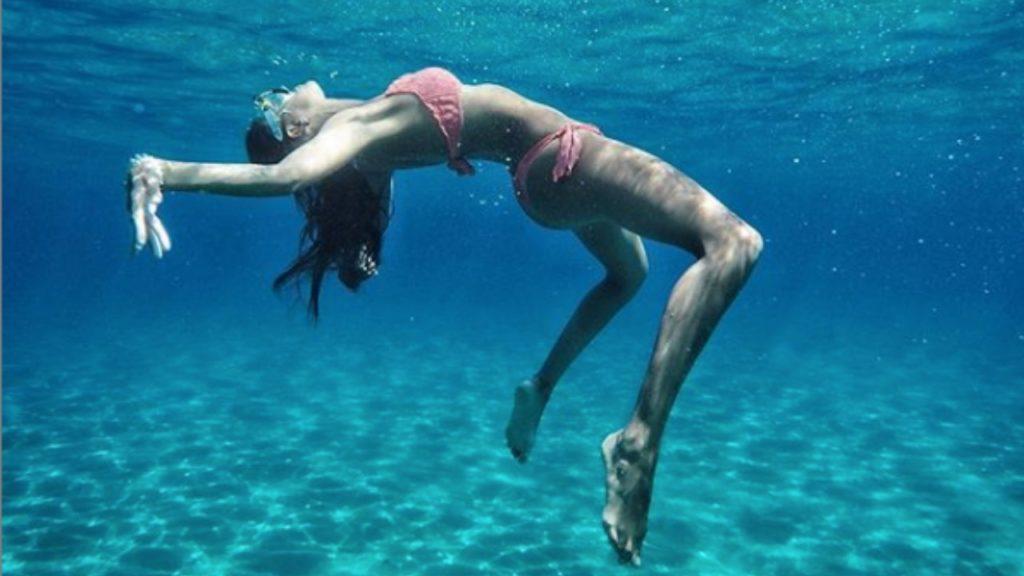 Rebecca Rolle in mare