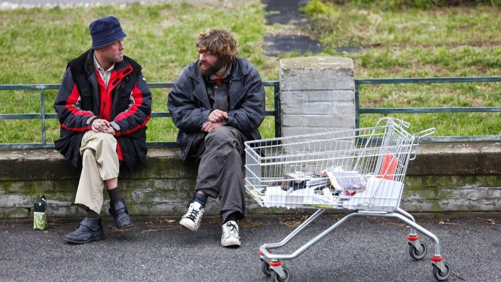 senzatetto strada