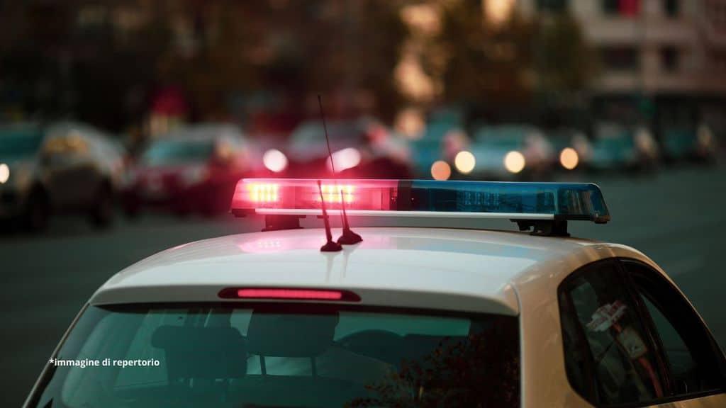 sirene di un'auto della polizia