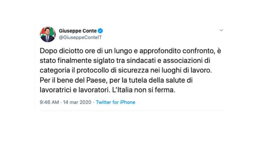 tweet conte