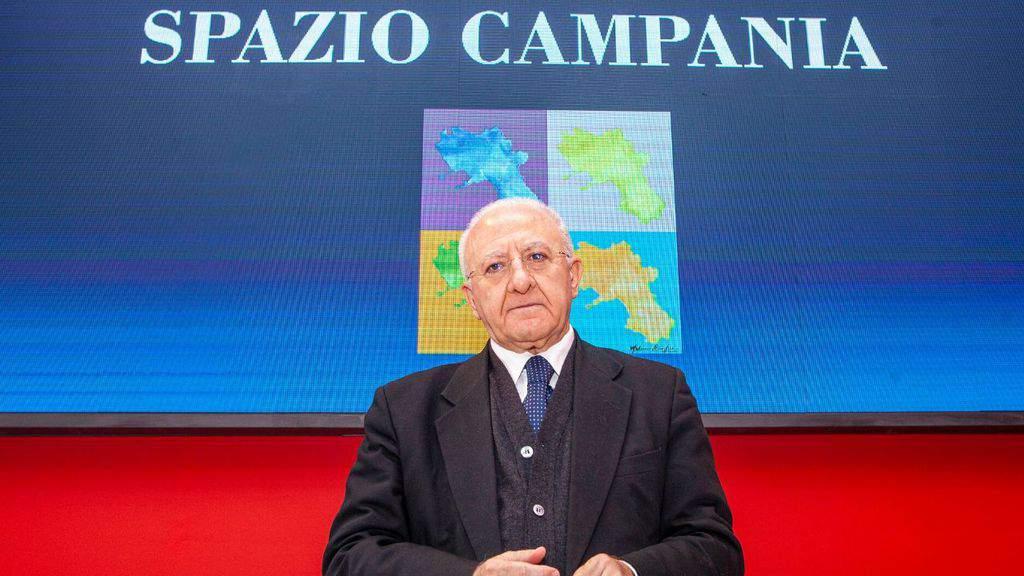 Vincenzo De Luca governatore