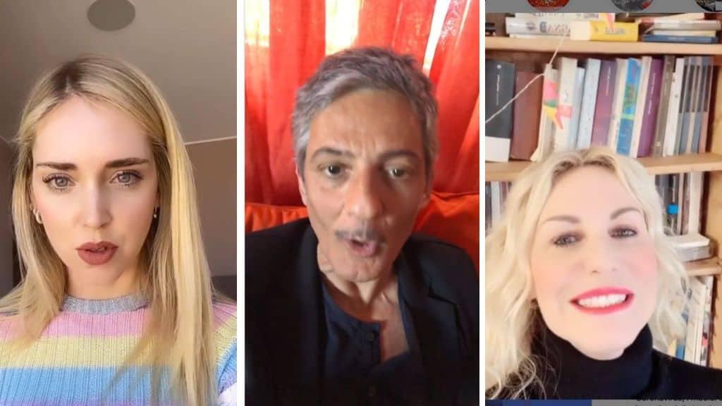 Chiara Ferragni, Fiorello e Antonella Clerici lanciano un appello