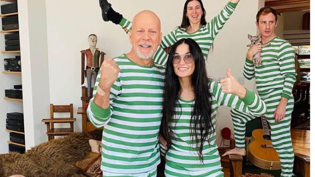 Bruce e Dami insieme in quarantena