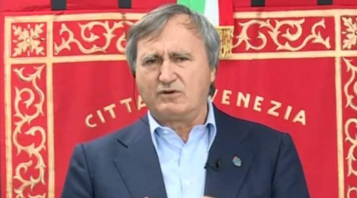 sindaco di Venezia a Domenica In