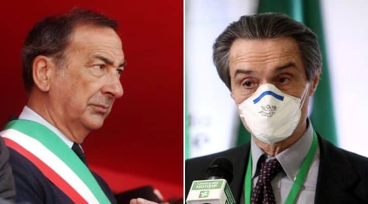 Beppe Sala e Attilio Fontana