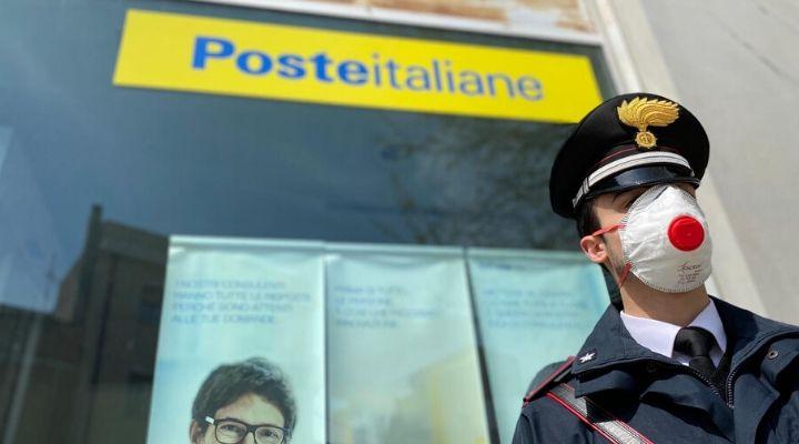 Coronavirus, i Carabinieri porteranno la pensione a casa agli over 75