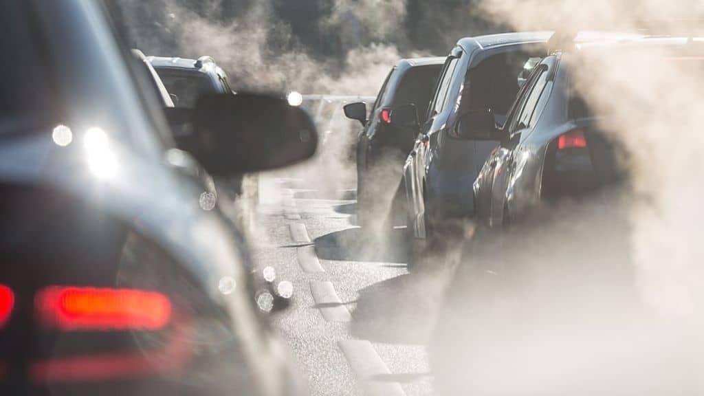 Smog e inquinamento di macchine