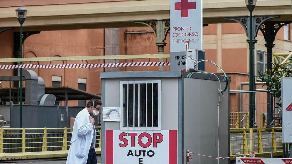 coronavirus italia ospedale