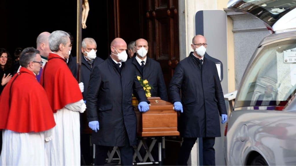 Funerale con emergenza Coronavirus