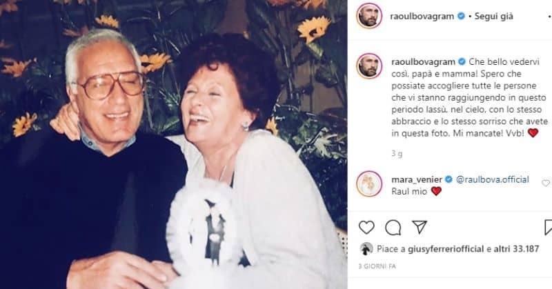 i genitori di Raoul Bova