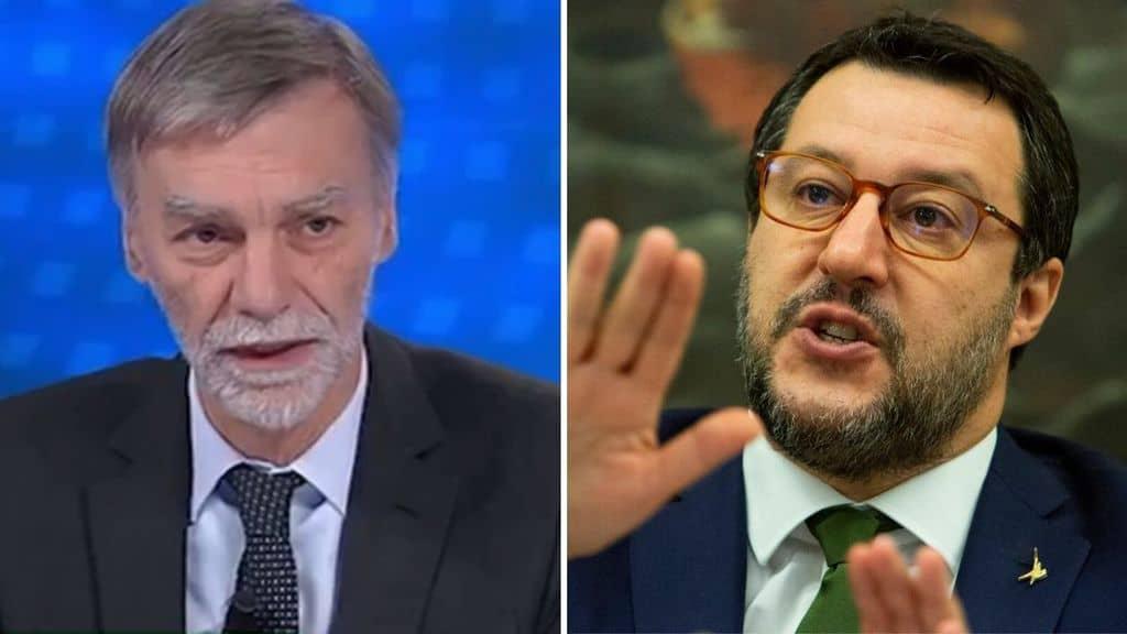 Graziano del Rio e Matteo Salvini
