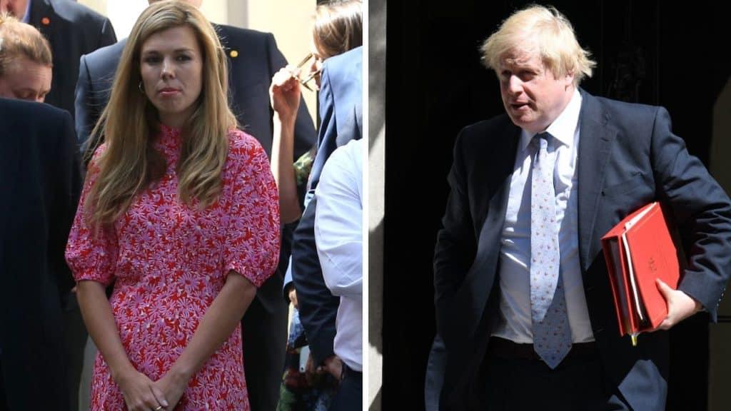 Coronavirus: la compagna di Boris Johnson ha manifestato i s