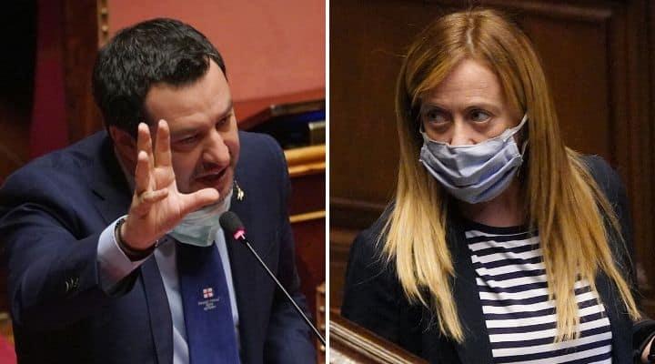 Attacco frontale: Salvini e la Meloni rispondono alle accuse