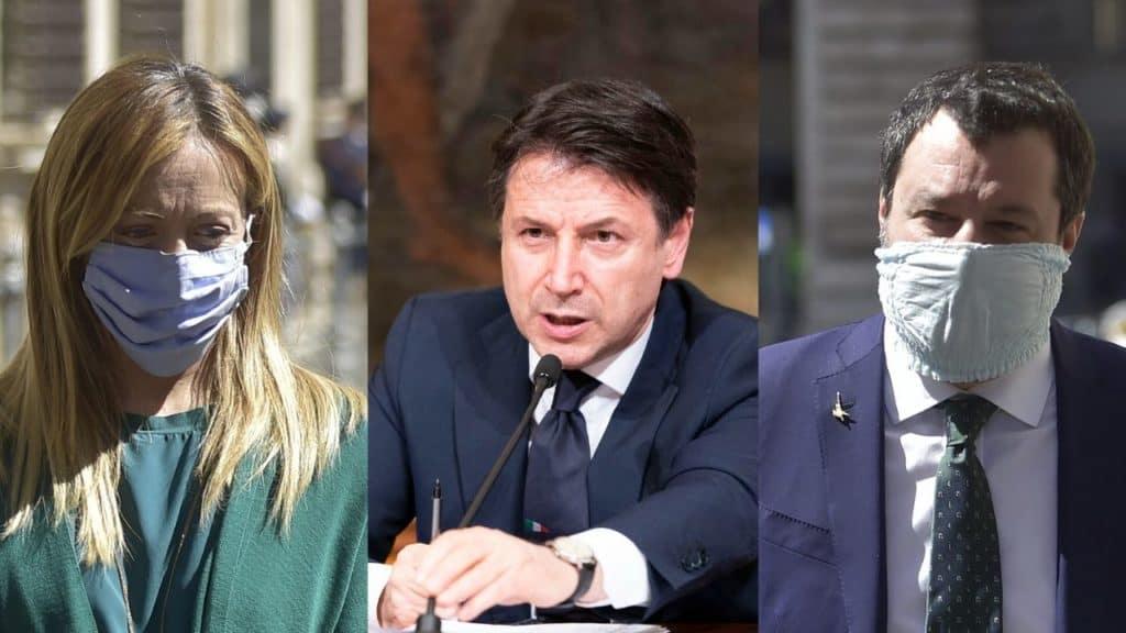 Giuseppe Conte alza la voce: l'attacco a Matteo Salvini e Gi