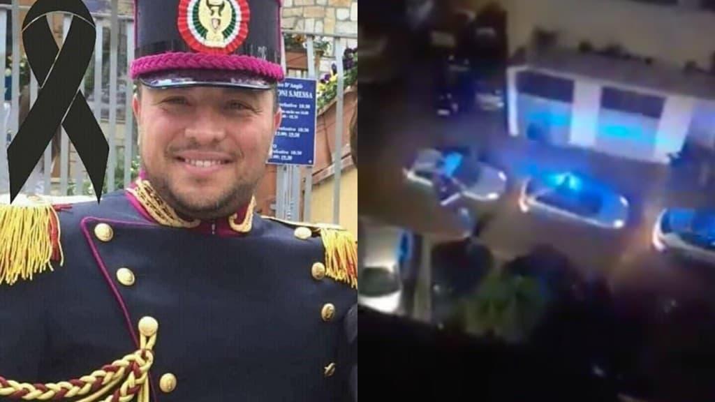 pasquale apicella video saluto militare