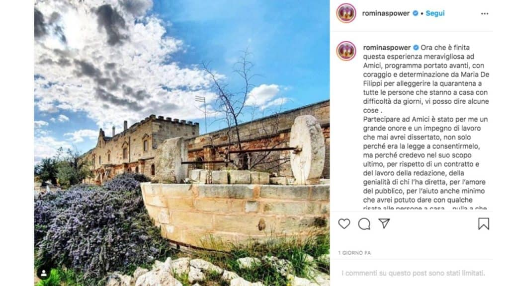 post instagram di romina power