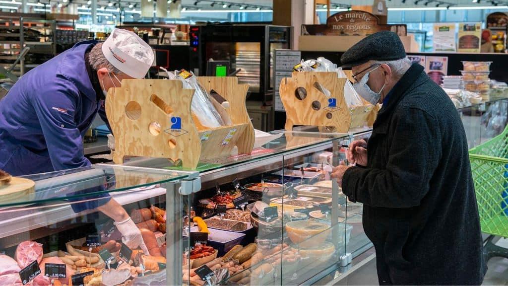 Spesa al supermercato durante il Coronavirus