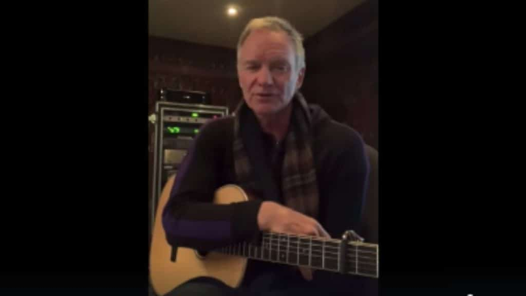 "Coronavirus, Sting dedica una canzone all'Italia: ""Mi mancat"