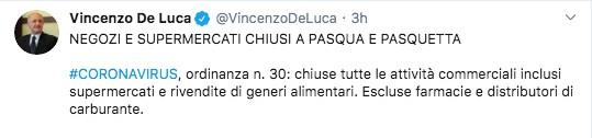 Tweet De Luca