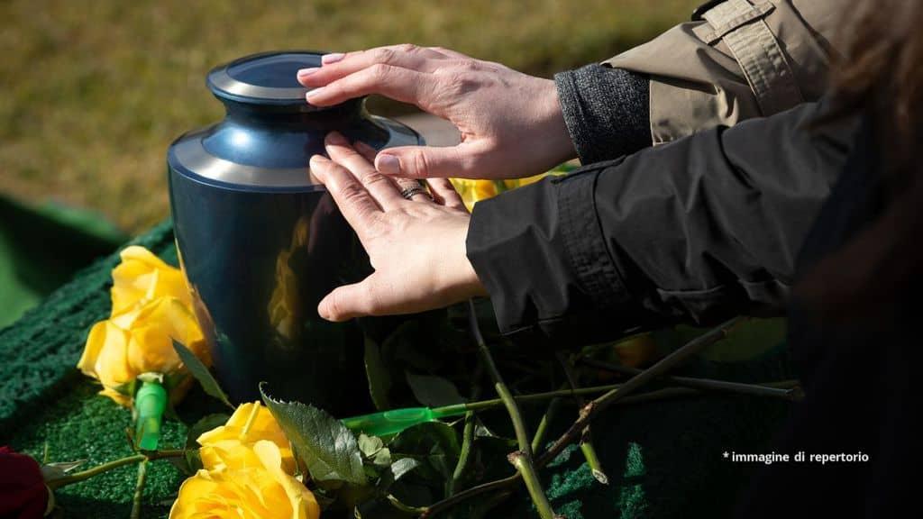 Un'urna funebre