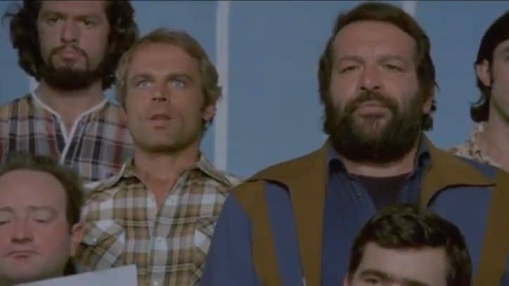 Bud Spencer e Terence Hill in Altrimenti ci Arrabbiamo