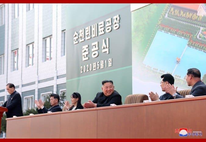 Kim Jong-un inaugura una fabbrica
