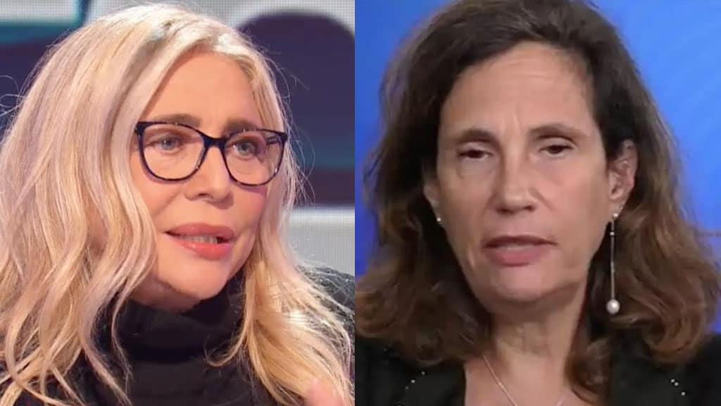 Mara Venier e Ilaria Capua