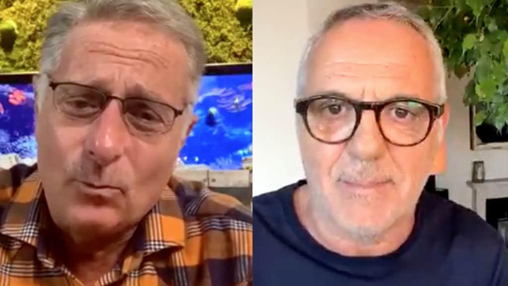 """Paolo Bonolis a Giorgio Panariello: """"Quello che dici è un di"""