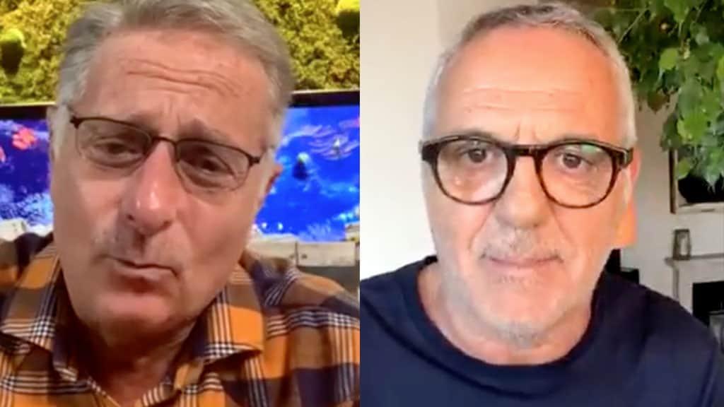 Paolo Bonolis e Giorgio Panariello