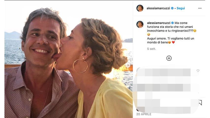 Post di Alessia Marcuzzi su Instagram