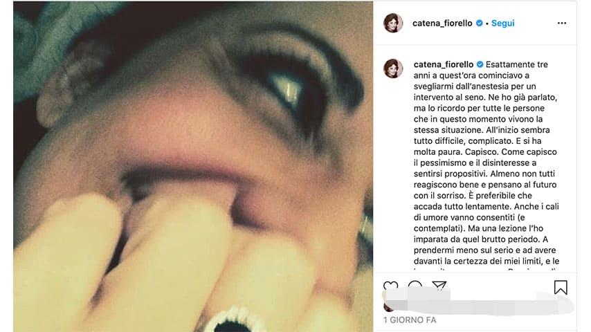 Post di Catena Fiorello su Instagram